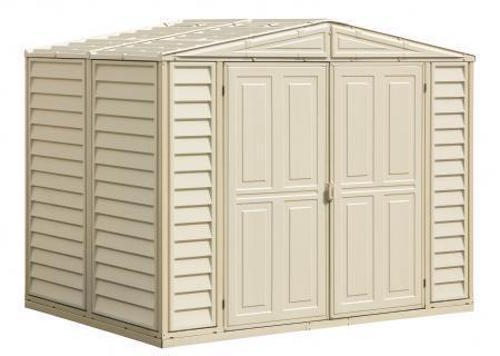 Duramax 00181 duramax 8x6 shed on sale with fast free for Caseta pvc exterior