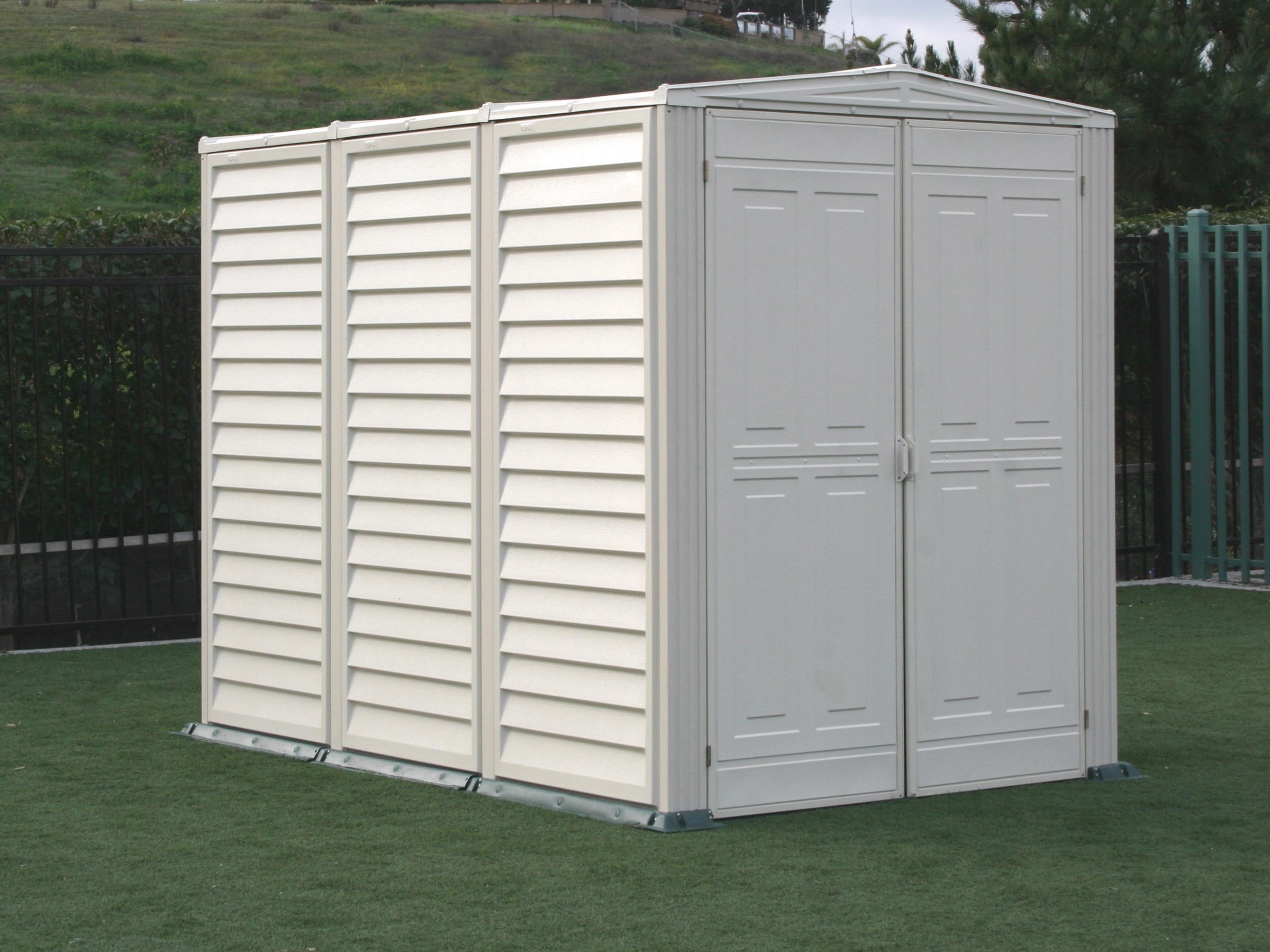 Duramax 00882 yard mate 5x8 storage shed on sale with free for Garden shed 8x5