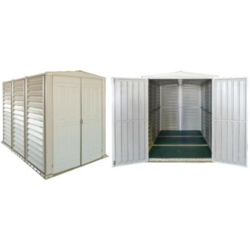 Plastic shed mate get more shed plans for Garden shed 8x5