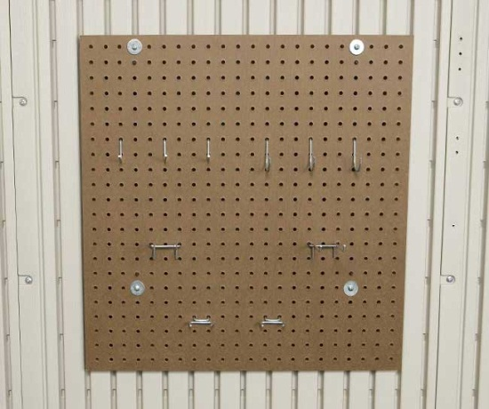 Lifetime Outdoor Storage Accessory 0170 Peg Board Kit For