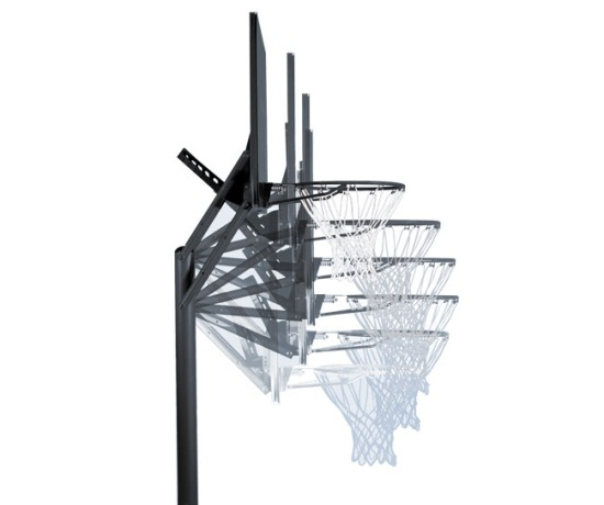 nba spalding basketball hoop instructions