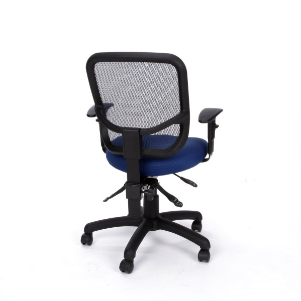 OFM 130 AA3 Computer Office Task Chair Mesh Back Adjustable Arms