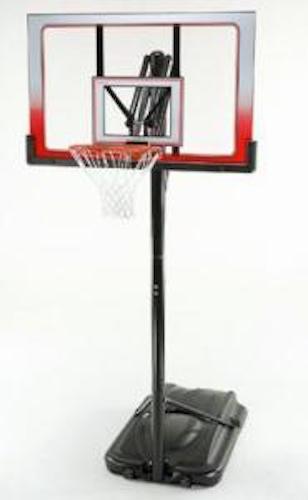 Atlas Portable Basketball System 1558 52 Inch Backboard