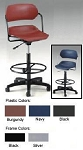 OFM Office Chairs 119-Vam-Dk Adjustable Task Chair with Drafting Kit
