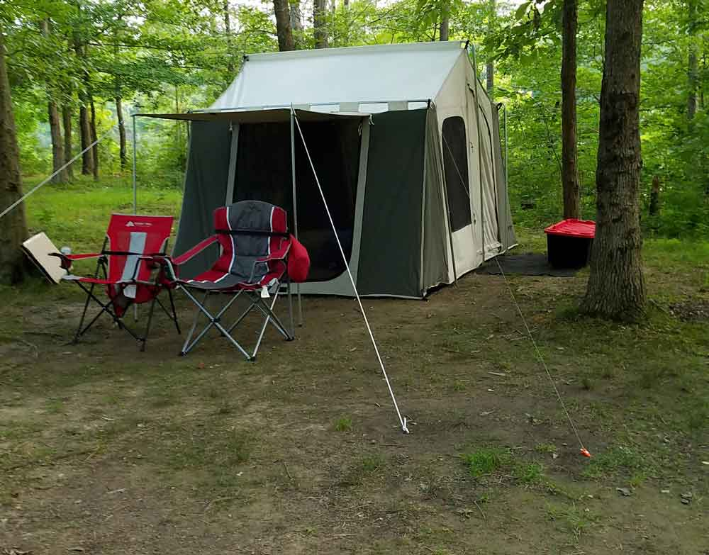 Kodiak 6121 Set up outdoors