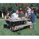 Folding Lifetime Picnic Tables