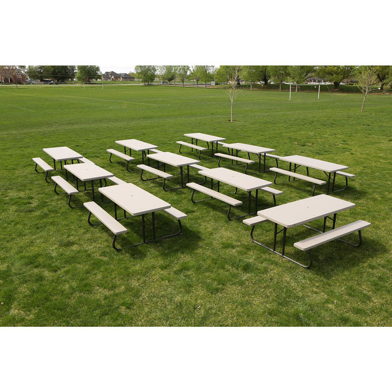 10 pack lifetime picnic tables on sale today fast for 10 ft picnic table