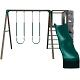 SO Big Stuff 261000 Play Swing set Earth tone Small Deck (no roof)