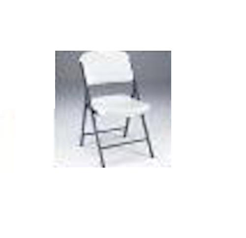 Lifetime Folding Chair 22802 Single Pack White Granite Chair