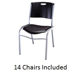 Lifetime Stackable Chair