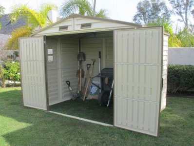 Duramax 30115 Storeall 8x6 Vinyl Storage Shed On Sale