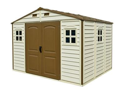 Duramax 30214 Vinyl Woodside 10 5x8 Shed On Sale With Free