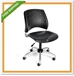 OFM 326-P Stars Swivel Plastic Chair