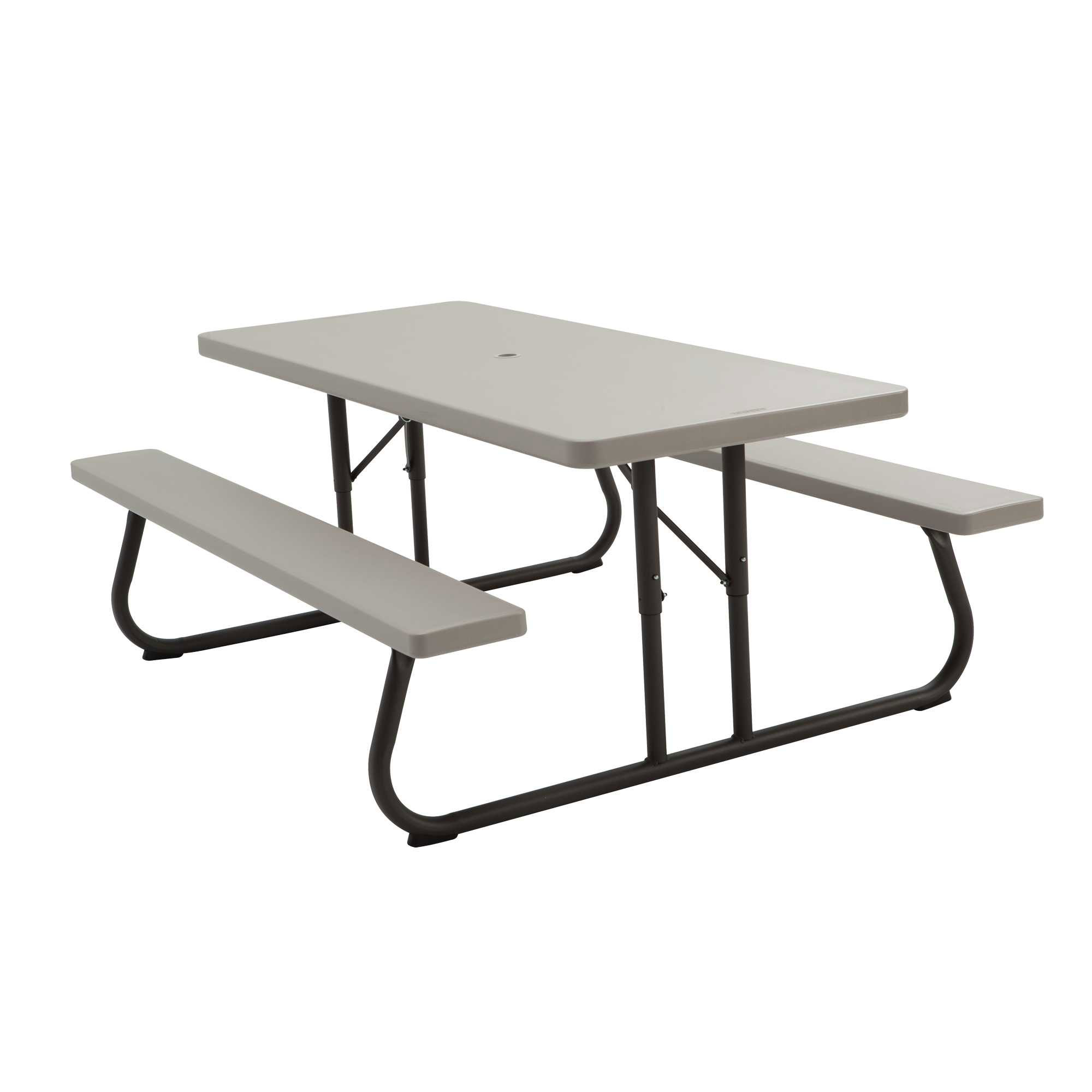 LIFETIME PUTTY PLASTIC 6 FOLDING PICNIC TABLE ON SALE WITH