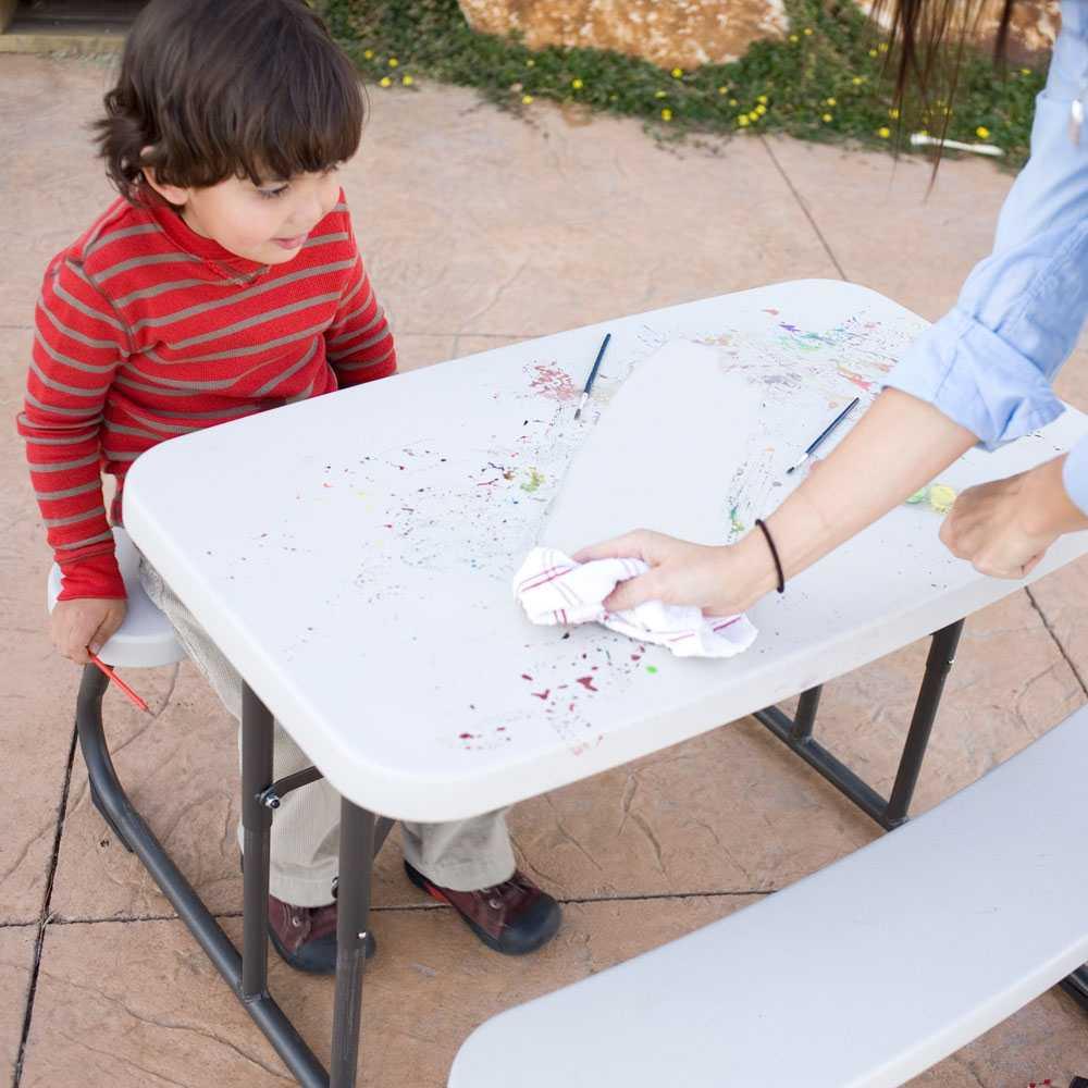 Lifetime Kids Picnic Table 480094 Folding Picnic Tables