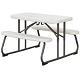 Lifetime Kids Picnic Table - 480094 Folding Picnic Tables - 4 Pack