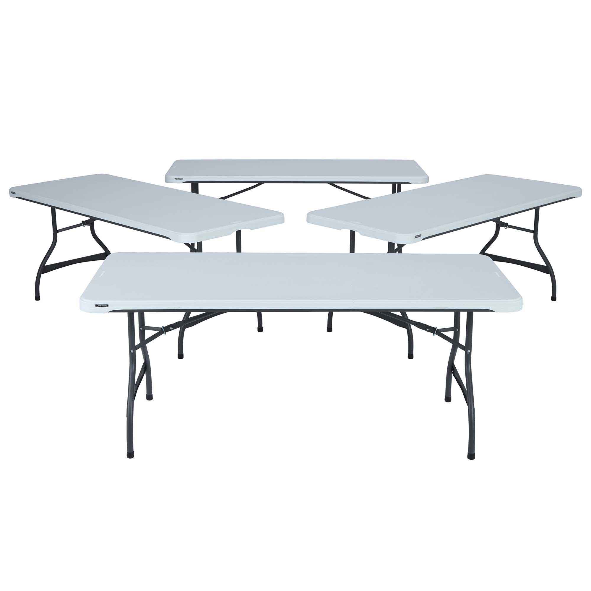 Lifetime Nesting & Folding Table 6 on Sale with Free Shipping