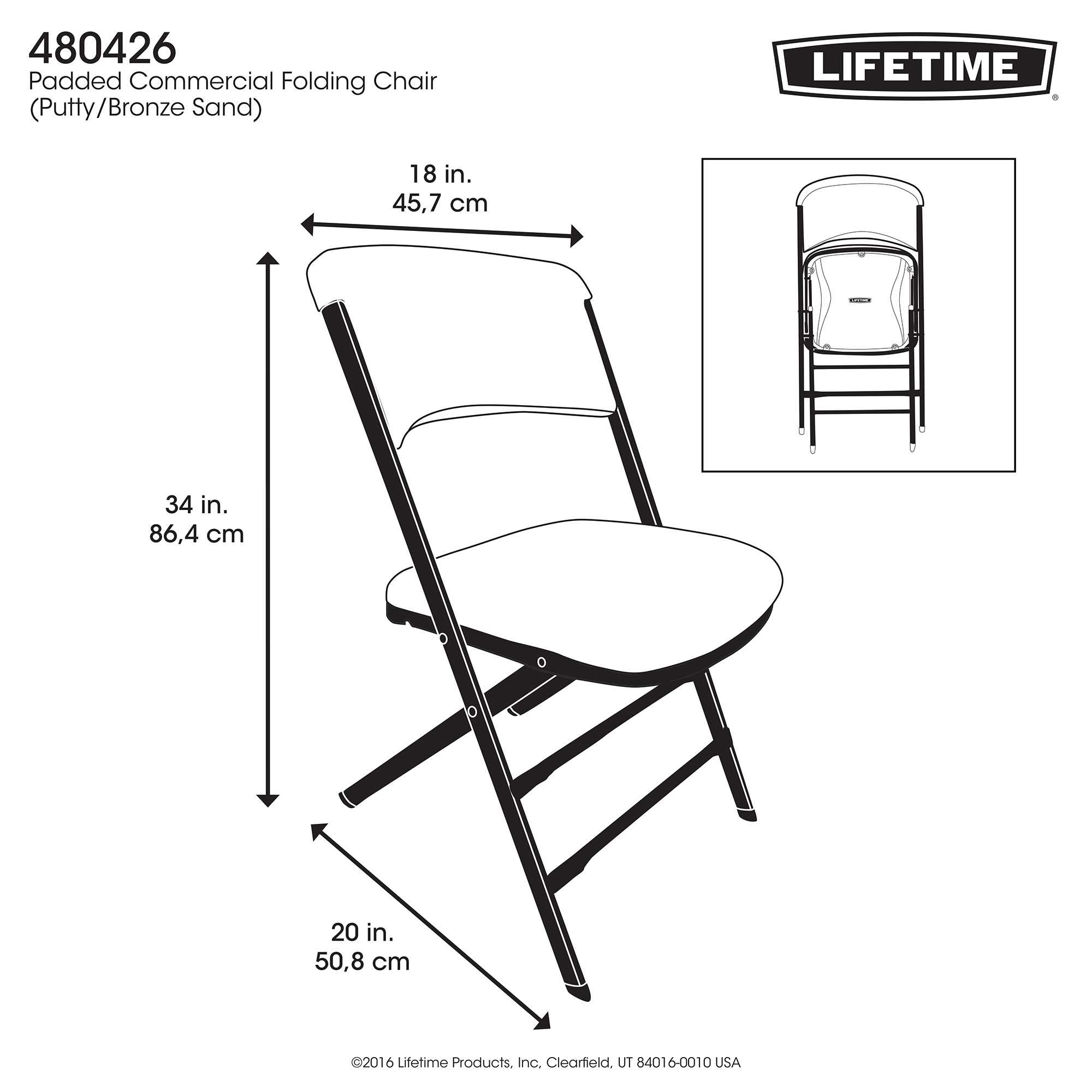 Lifetime Lifetime Padded Chair on Sale with Fast & Free