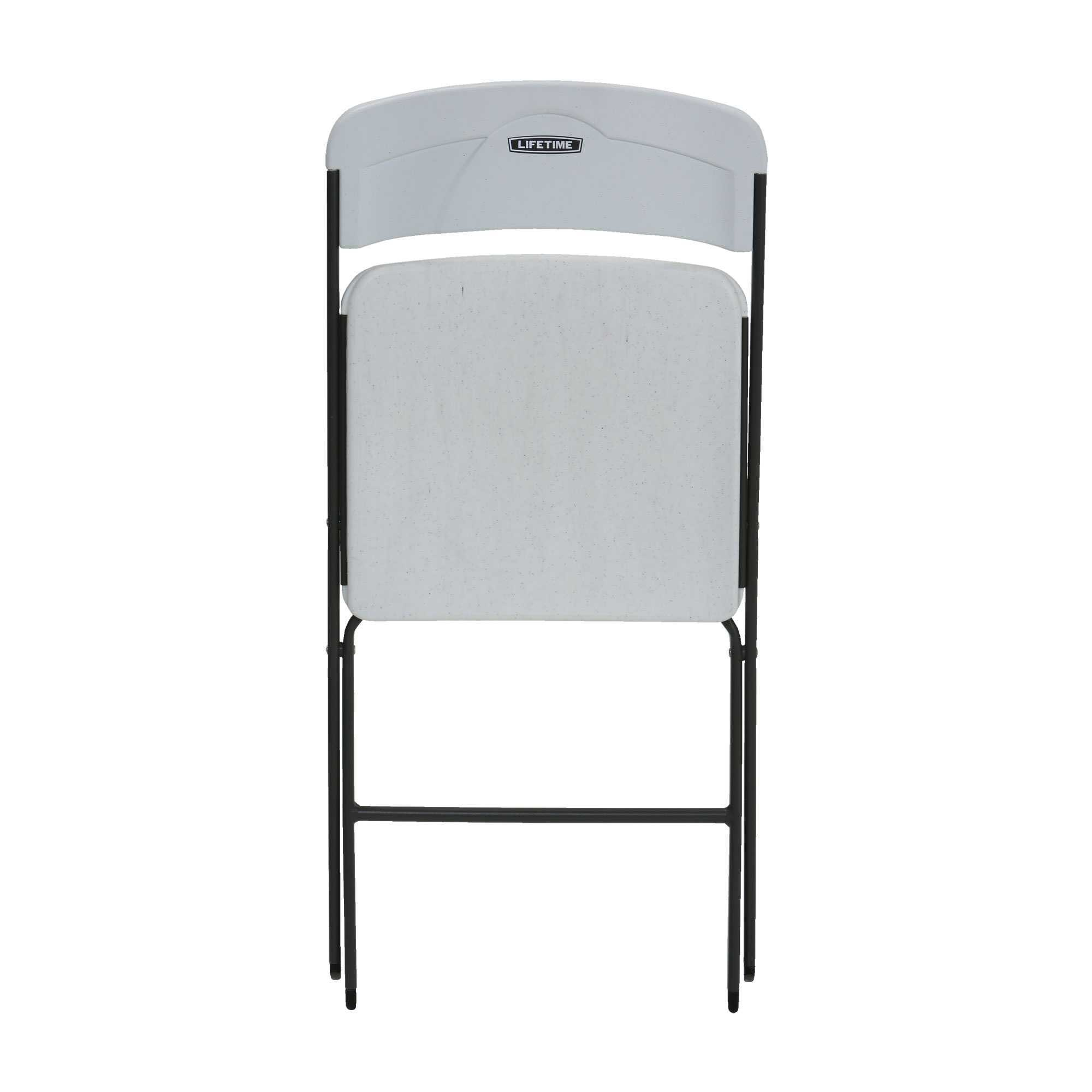 Lifetime White Granite Chairs 6 PACK on Sale Today in Bulk