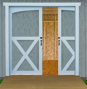 Best barns belmont 12x16 wooden storage shed by best barn for 16x10 garage door price