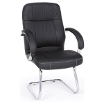OFM 518-LX Stimulus Series Mid-Back Leatherette Executive Guest Chair