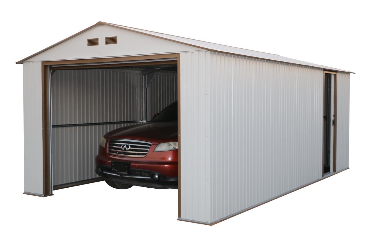 55261 duramax imperial metal garage shed 12x32 storage