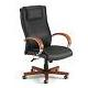 Ofm 560-L High-Back Leather Office Chair