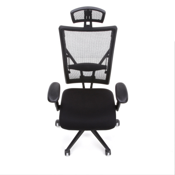 Executive Office Chairs 590 F Mesh Back Fabric Seat