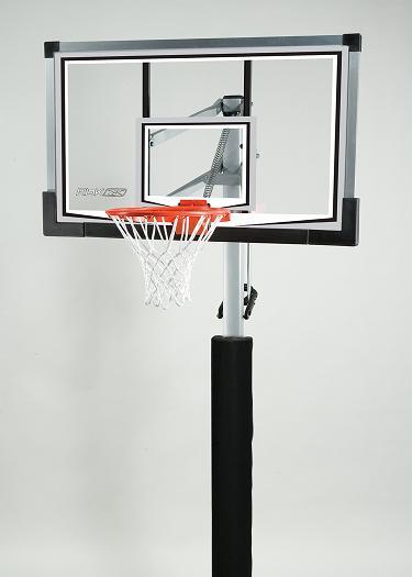 "Lifetime Basketball Hoop Reebok 59971 54"" Glass Backboard ..."