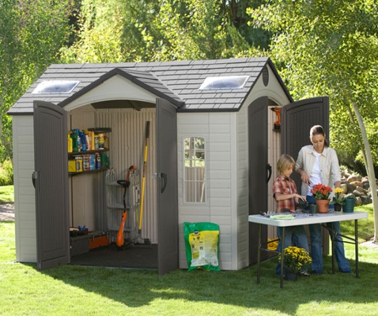Side Entry Storage Sheds