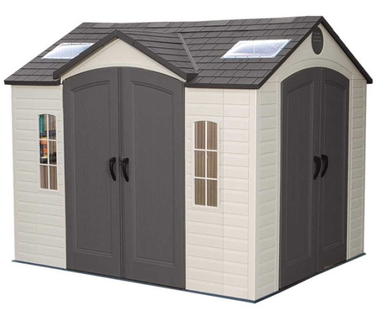 Garden Sheds 8x10 lifetime 60001 10x8 garden shed on sale with fast & free shipping