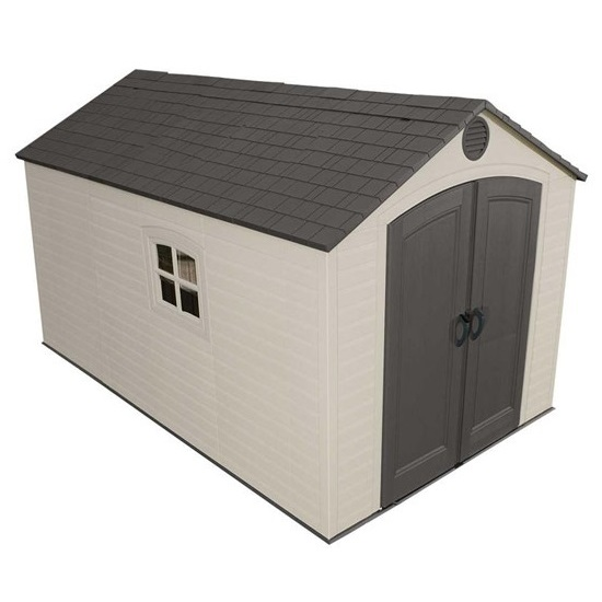 Lifetime storage sheds 60035 8x12 5 plastic outdoor shed - Outdoor plastic shed storage ...