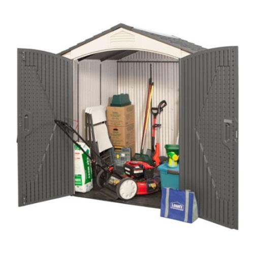 lifetime storage sheds 60048 7x7 plastic building - Garden Sheds 7x7
