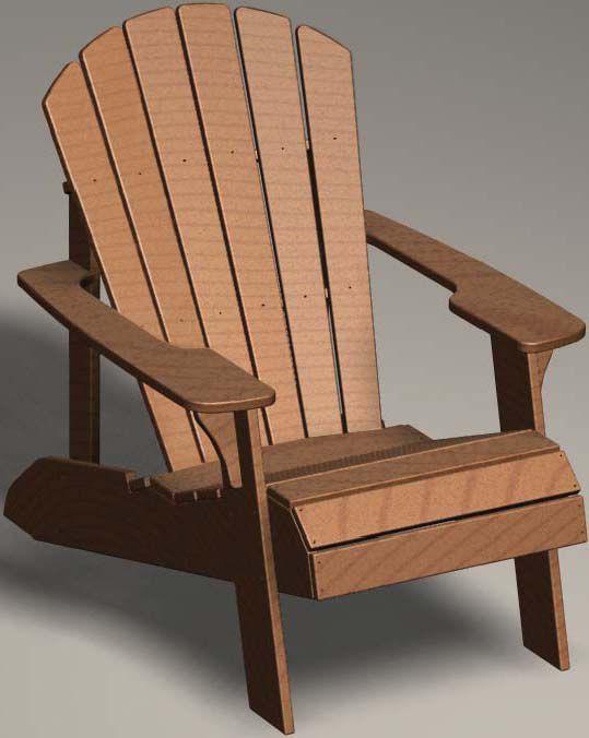 Adirondack Polystyrene Plastic Patio Chair Sale Today