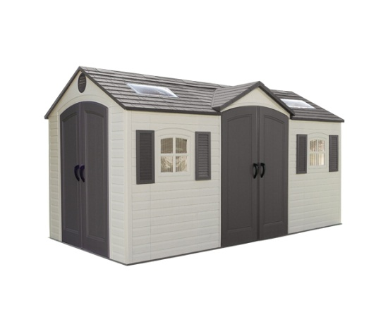 Lifetime 60079 Garden Shed 15 x 8 on Sale with Fast & Free Shipping