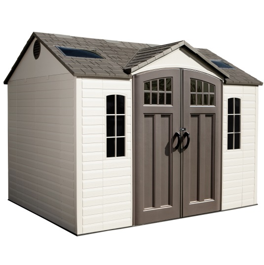 Suncast Covington Gable Storage Shed  Easy Gambrel Roof