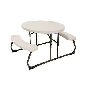 Lifetime Children S Oval Picnic Table Almond