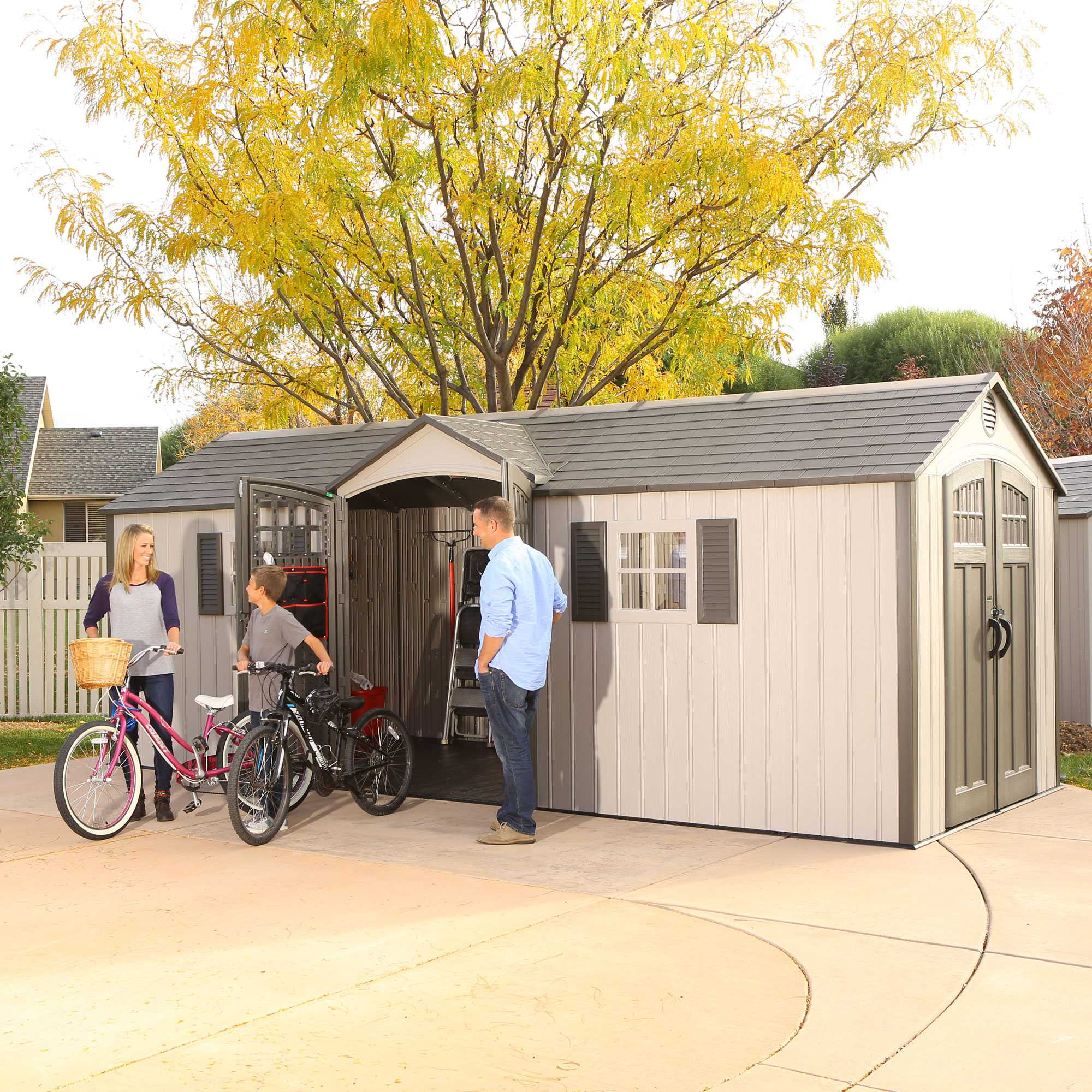 lifetime 60127 20x8 lifetime shed 734383 on sale with fast u0026 free