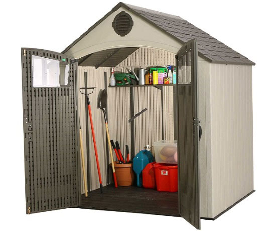 Lifetime 8 X 6 5 Ft Outdoor Storage Shed 60147a