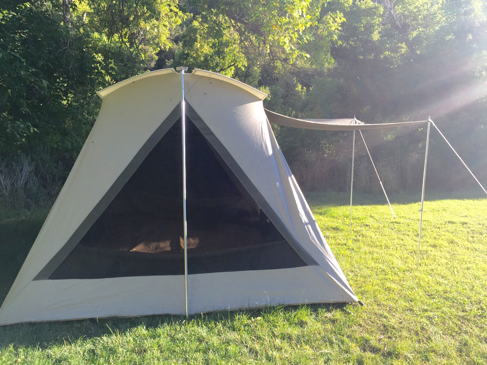 Kodiak Canvas Tent 6041vx Super Deluxe 10x14 Includes Free