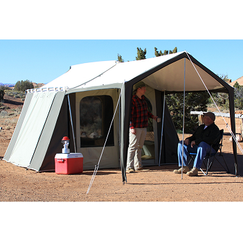 Kodiak Canvas Cabin Tent 6133 6 Person 9x12 With Deluxe