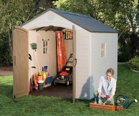 6405 8x10 Lifetime Shed