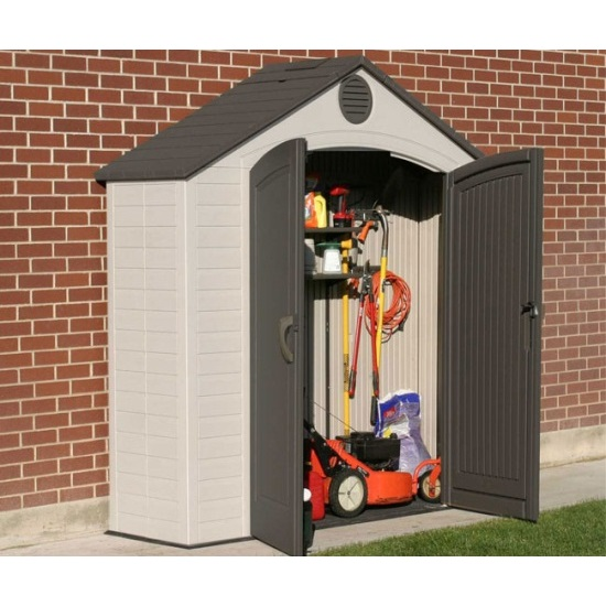 Lifetime 6413 8x2.5 ft Storage Shed on Sale with Fast & Free Shipping
