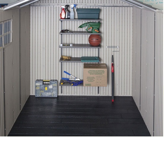 Lifetime 6415 111x13 5 Plastic Storage Shed On Sale With