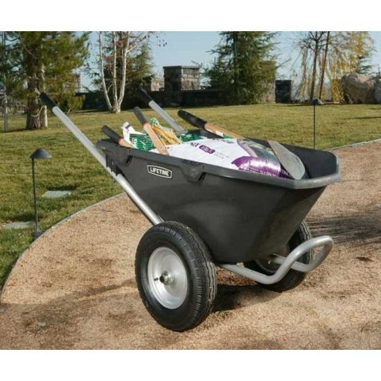 ... Assets/images/65034 Lifetime Garden Wheelbarrow Loaded ...