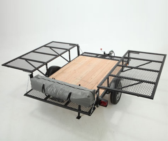 Lifetime Sahara Deluxe Utility Tent Trailer w/Ramp and ...
