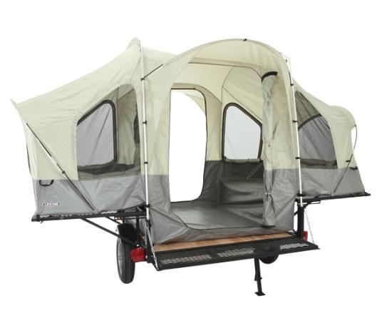 Lifetime Tent Trailer 65047 Sahara Utility Trailer