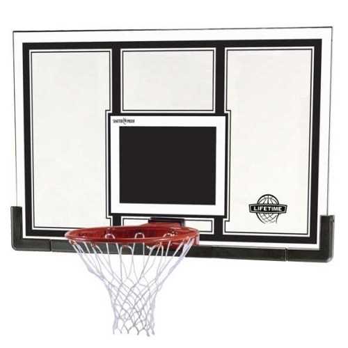 Replacement Lifetime Basketball Backboard Example