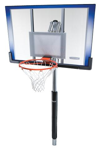 Lifetime Basketball 71798 Inground Basketball Hoops 50 Backboard System