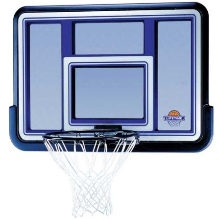 Lifetime Backboard And Rim Combo 73650 44 Inch Fusion System
